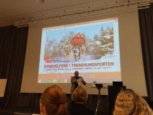 Norges hundekjørerforbund arrangerte seminar om Dyrevelferd i trekkhundsporten i høst.